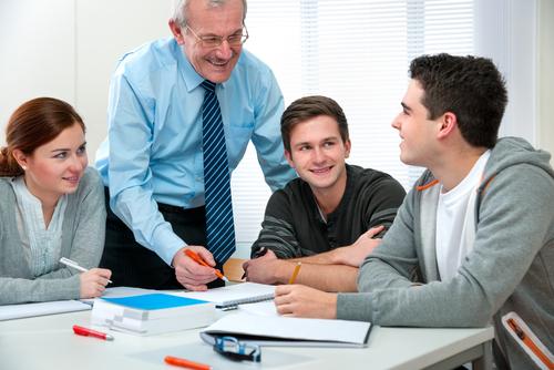 business school presentation